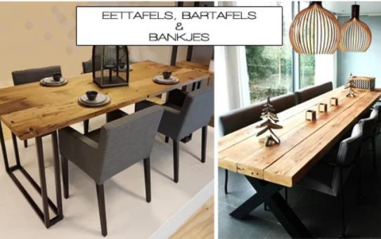 Robuuste tafels; op maat voor u gemaakt